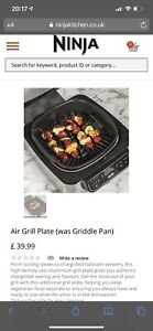 NINJA FOODI HEALTH GRILL & AIR FRYER AG301UK BRAND NEW REMOVABLE GRILL PLATE £40