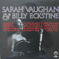 "Vinyle 33T Sarah Vaughan & Billy Eckstine  ""Sing the best of Irving Berlin"""