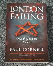 London Falling Signed Uncorrected Proof Paperback Paul Cornell