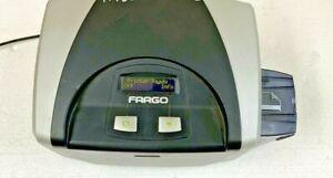 Fargo DTC400 Single Sided ID Card Printer 044100E P/N X001400 3026 Card Count