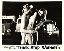 Truck Stop Women Original Lobby Card 1974 Claudia Jennings in panties