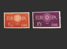 Ireland Sg 182/3 Europa 1960 QEII Lightly Mounted Mint