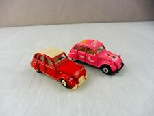 Lot de voitures, Citroen 2CV, Giodi et MC Toy
