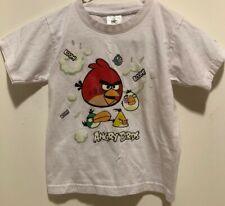 Angry Birds T Shirt for _KIDS_ Size  3-4 White.
