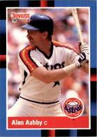 1988 Alan Ashby Donruss Baseball Card #163