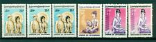 BURMA - East Asia  - British Colony   6 stamps MNH With Error Key stamp full set