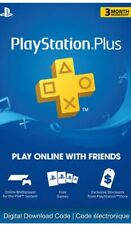 Playstation PS plus Ps4-PS3 3months Account (no code)