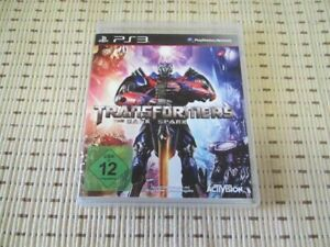 Transformers The Dark Spark für Playstation 3 PS3 PS 3 *OVP*