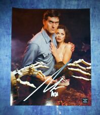 Bruce Campbell Hand Signed 8x10 Photo Coa Evil Dead