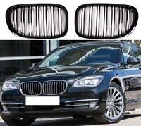 BMW X1 F48 Negro Brillante Frontal riñón rejillas Parrilla Doble Twin habló Reino Unido 2015