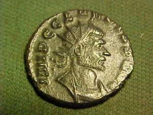 Roman AE Antoninianus of Claudius ll Gothicus 268 -270 AD.