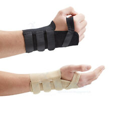 Actesso Wrist Support Splint for Pain Relief Carpal Tunnel Hand Brace RSI Injury Medium Right Black Elastic