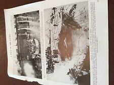 m12a ephemera ww2 1945 picture u s s bunker hill bomb damage