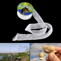 5M PVA 37mm Mesh Refill Carp Fishing Stocking Boilie Rig Bait Wrap Bags 3 Hc