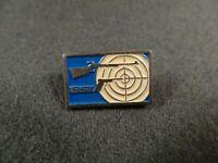 Antique Pin Badge firearm gun czech arms