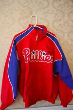 Official MLB PHILLIES Jacket Signed by Mike Schmidt HOF 95