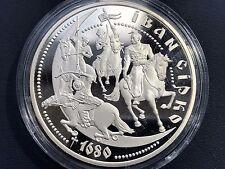 """Ukraine,10 hryven coin """"Ivan Sirko"""" Silver 2002"""