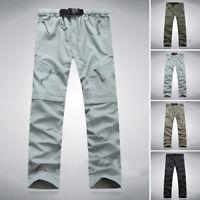 Men's Detachable Trousers Outdoor Hiking Fishing Pants Quick Dry Pants For Men