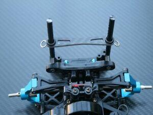 Carbon Karosserie Halter Versteifung vorne + hinten Tamiya M05 M06 Chassis Serie