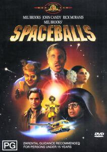 Spaceballs -  Mel Brooks, John Candy, Bill Pullman - New & Sealed DVD