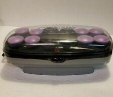 CONAIR Instant Heat Super & Jumbo Rollers Ceramic Ionic Flocked Hair Curlers EUC