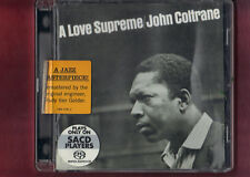 JOHN COLTRANE - A LOVE SUPREME super audio cd SACD APERTO NON SIGILLATO