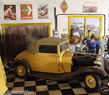 Garage diorama 3D for kit or die cast car 1/24 collectible + Bonus 8 prints