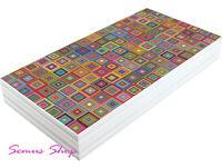 Wunderschöne Bunte Design Backgammon TAVLA XXL