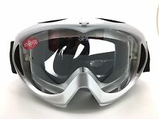 SPY+ Optic Targa MX Mini Goggle 320391560097 Silver Pearl Frame w Clear AFP Lens