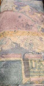 3pc Set Croscill Benetello Pastels Abstract Twin Comforter Sham Bed Skirt