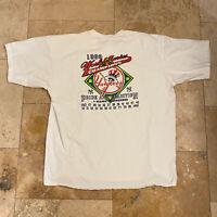 Vintage New York Yankees T-Shirt 1998 Size XL MLB 90s