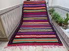 Vintage Handmade Moroccan Large Rug Azilal Tribal Wool Rug Beni Ourian Carpet