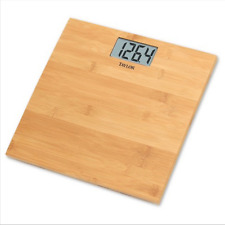 Taylor - Bamboo Bathroom Scale - Great Condition - Tested Working - READ!