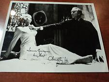 CHRISTOPHER LEE - Signed Autographed DRACULA 8x10 Photo - JSA COA AUTHENTICS