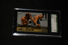 RANDY COUTURE 2011 TOPPS UFC SIGNED AUTOGRAPHED CARD #TT-19 SGC SLABBED