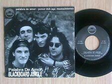 "BLACKBOARD JUNGLE - PALABRA DE AMOR  - 45 GIRI 7"" ITALY"