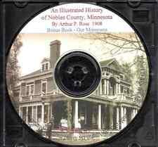 Nobles County Minnesota History + Bonus Book