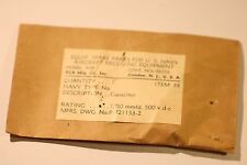 RADIO PARTS U.S NAVY AIRCRAFT RECEIVING EQUIPMENT ARB CONT.NOs.98559 ITEM 33