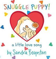 Snuggle Puppy (Boynton on Board) by Sandra Boynton, Good Book