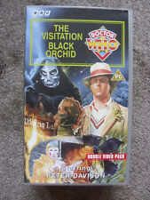 'Doctor Who: The Visitation & Black Orchid' - VHS Cassette - Double Pack