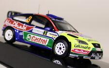 IXO 1/43 escala RAM326 Ford Focus RS WRC 1st Coche Modelo Diecast Jordan Rally 2008