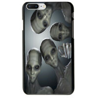 Funny Alien Soft TPU Case Cover For iphone 6S 7 Plus 8