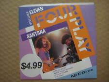 "SANTANA Four Play RARE AUSSIE PROMO 4 TRACK 7"" EP 1988 - 651081 7 - NEAR MINT"