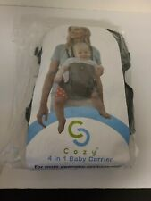 Cozy 4-in-1 Convertible Baby Carrier Grey Ergonomic Infant Carrier NEW SEALED