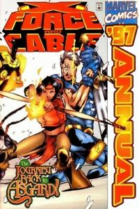 X-FORCE AND CABLE Annual 1997 - Back Issue