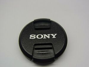 40.5mm Front Lens Cap Center Pinch Snap on for Sony Camera Plastic OEM