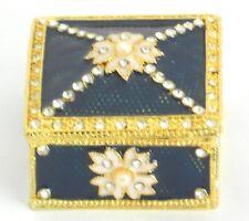 Enamel jewelry box / Square shape Gift box / Favor, engagement, wedding......