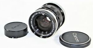 Canon Prime FL 35mm f/2.5 MF Wide Angle Lens As Is For Parts Or Repair