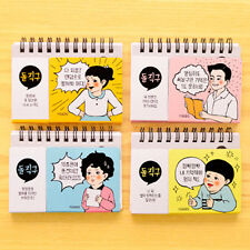 2 x English study note Cute Notes Notebook Paper Notepad Journal Korean Study