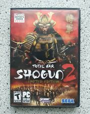 Total War Shogun 2 Limited Edition PC Game Sega 2011